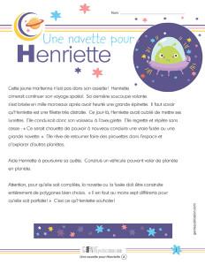 Une navette pour Henriette