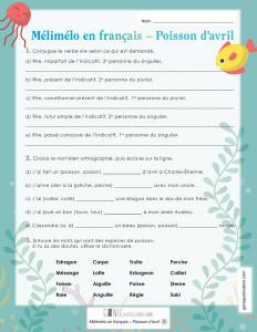 Mélimélo en français – Poisson d'avril