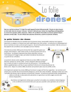 La folie des drones