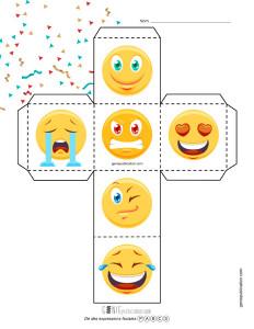 Dé des expressions faciales