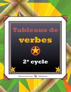 Tableaux de verbes 2e cycle