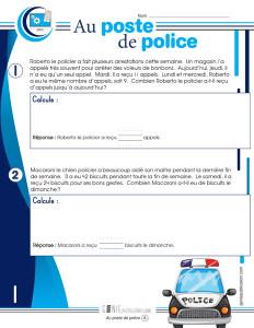 Au poste de police