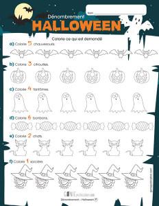 Dénombrement – Halloween