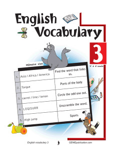 English Vocabulary 3