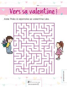 Vers sa Valentine !