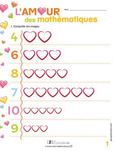 L'amour des mathématiques