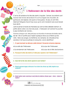 L'Halloween de la fée des dents