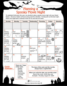 Planning a Spooky Movie Night