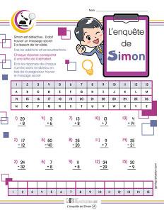 L'enquête de Simon
