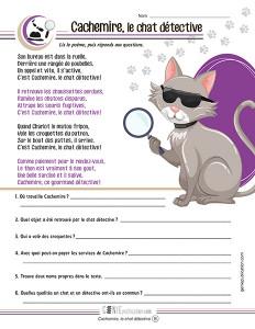 Cachemire, le chat détective