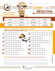 Jouer au détective