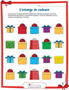 L'échange de cadeaux