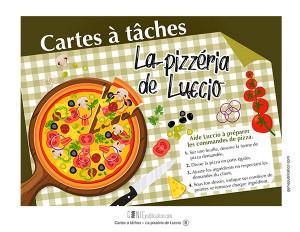Cartes à tâches - La pizzéria de Luccio