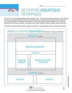 Le centre aquatique olympique