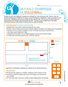 La finale olympique de volleyball