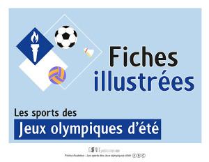 Fiches illustrées des sports des Jeux olympiques d'été