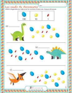 Les œufs de dinosaures