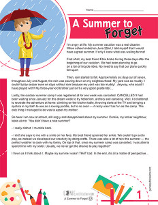 A Summer to Forget