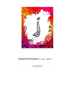 10 jeux en français – série 1