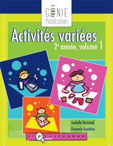 Activités variées 2e année, volume 1