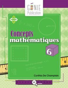 Concepts mathématiques 6