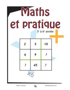 Maths et pratique