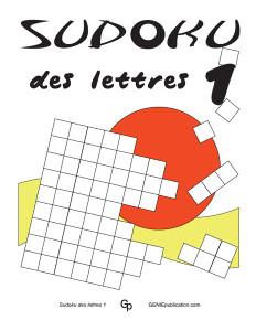 Sudoku des lettres 1