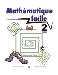 Mathématique facile 2