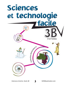 Sciences et technologie facile 3B
