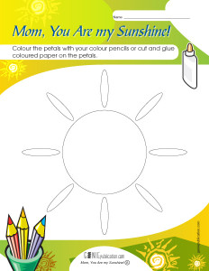 Mom, You Are my Sunshine!