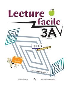 Lecture facile 3A