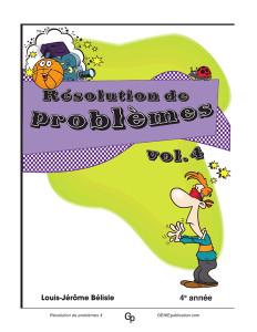 Résolution de problèmes 4