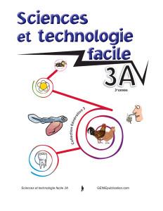Sciences et technologie facile 3A