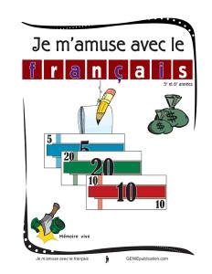 Je m'amuse avec le français