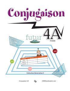 Conjugaison 4A