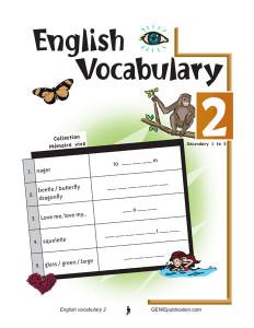English Vocabulary 2