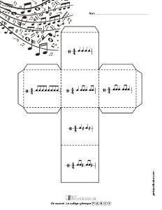 Dé musical – Le solfège rythmique