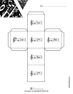 Dé musical – Les intervalles