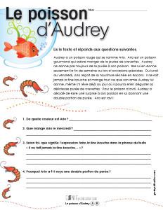 Le poisson d'Audrey