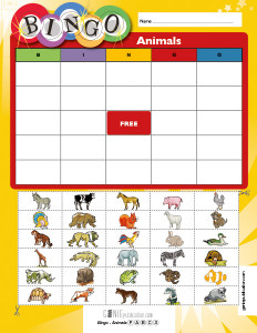 Bingo – Animals