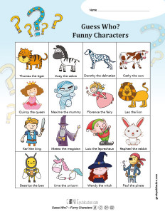Guess Who? – Funny Characters