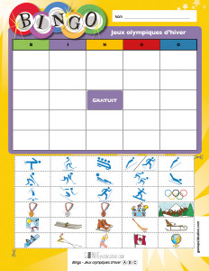 Bingo – Jeux olympiques d'hiver