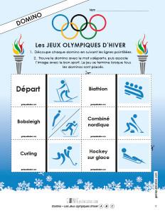 Domino – Les Jeux olympiques d'hiver