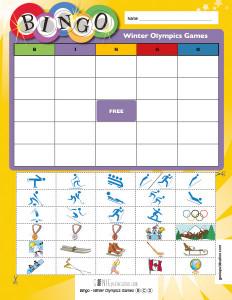 Bingo – Winter Olympics Games