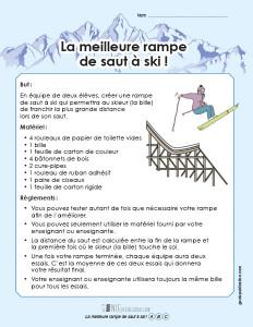 La meilleure rampe de saut à ski