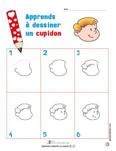 Apprends à dessiner un cupidon
