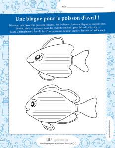 Une blague pour le poisson d'avril – 2