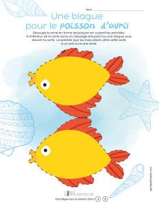 Une blague pour le poisson d'avril – 1