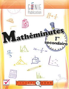 Mathéminutes – 1ʳᵉ secondaire