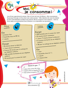 Moi, je consomme !